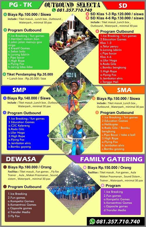 Outbound Selecta Malang Outbound Selecta Outbound Anak Di Malang